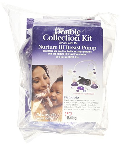 Nurture III Basic Double Breast Pump Collection Kit