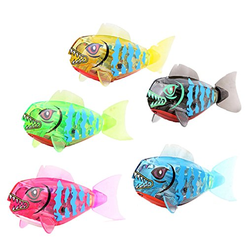 NEW-Cute-Robofish-Activated-Battery-Powered-Robo-Fish-Toy-Childen-Kids-Bath-Toy-Pet-Electronic-Robotic-Fish-Toy-Random-Color