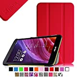 Fintie ASUS MeMO Pad 7 ME176CX Slim Shell Case - Ultra Slim Lightweight Stand Cover (Only Fit ASUS MeMO Pad 7 ME176CX / ME176C Tablet), Red