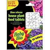 House Plant Food Feed Baby Bio Slow Release Home Plant Food Tablets *50 PACK*