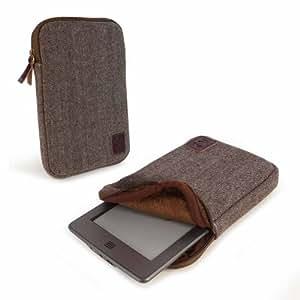Amazon.com: Tuff-Luv Herringbone Tweed sleeve case cover for 6