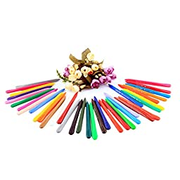 LianLe® 36 Colors Wax Crayon Approx. 12.5cm X 0.9cm