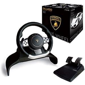 Amazon Com Lamborghini Gallardo Evo Steering Racing Wheel