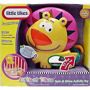 Little Tikes Littlest Tikes Spin and Shine Activity Toy