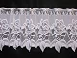 FINEST VALUE PREMIUM QUALITY CAFE NET CURTAIN PRICE PER METRE JACQUARD!!! (CARLA 1732) (14