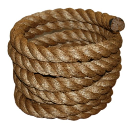 T.W . Evans Cordage 30-097-50 1-1/2-Inch by 50-Feet Pure Number-1 Manila Rope (1 Rope compare prices)