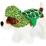 Top Paw Green Turtle Rider Dog Costume Small/Medium