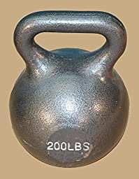 200 Lb. Wide Handle Kettlebell