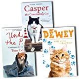Cat Adventurer Collection 3 Books Set Pack RRP: �30.97 (Dewey, Casper the Commuting Cat, Under the Paw)by VARIOUS
