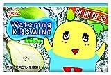 江崎グリコ ウォータリングキスミント 洋梨味 8枚×8個
