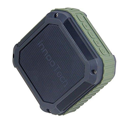 Innoo Tech Bluetooth Lautsprecher- Wireless Tragbar Lautsprecherbox Musikbox Stereo Speaker mit IP54 Wasserdicht für Outdoor / Dusche, Kompatibel mit iPhone, iPad, Android Handys, Smart Phones und MP3-Player usw. -Spritzwassergeschützt