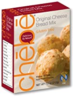 Chebe Bread Original Cheese Bread Mix, Gluten Free, 7.5-Ounce Bags (Pack of 8) from Chebe Bread
