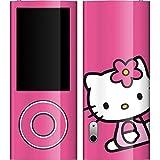 Hello Kitty iPod Nano (5G) Video Skin - Hello Kitty Sitting Pink Vinyl Decal Skin For Your Apple iPod Nano (5G) Video