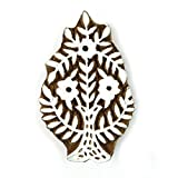 Floral Stamp Hand carved Printing Block Wooden Texile Stamp Block print Indian Art