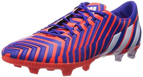 adidas - Predator Instinct Firm Ground, Scarpe da calcio da uomo, multicolore (solar red / ftwr white / night flash), 42 2/3