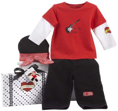 Baby Aspen Big Dreamzzz Baby Giftset, Rockstar (0-6 Months) front-146904