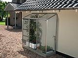 VITAVIA Anlehngewächshaus Ida 1300 silberfarben