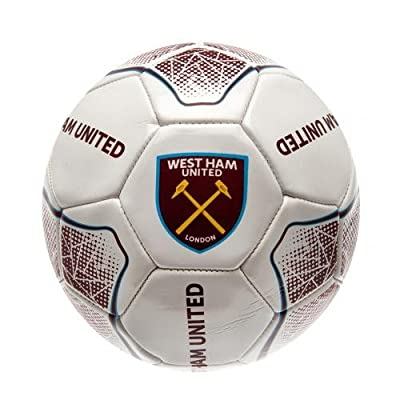 West Ham United FC Authentic UK Size 5 Prism Ball