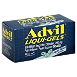 Advil Liqui-Gels Pain Reliever/Fever Reducer, 200 mg, Liquid Filled Capsules, 160 liqui-gels