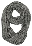 Dry77 Forever Scarf Thick Knitted Solid Infinity Loop Scarf
