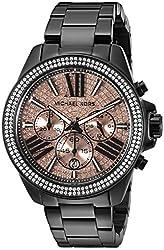 Michael Kors Women's Wren MK5879 Black Watch with Link Bracelet