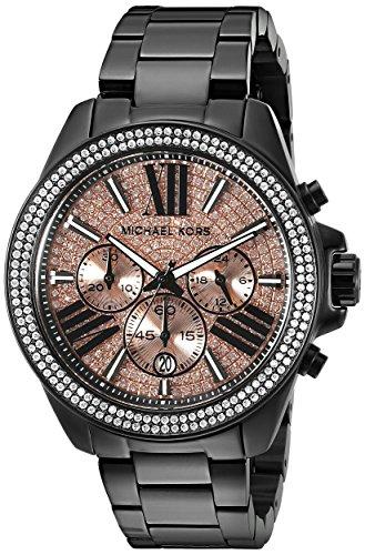 Michael Kors Women's Wren MK5879 Black Watch