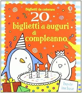 Cover 20 biglietti di auguri di compleanno
