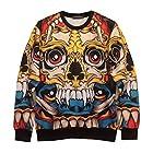 Zero Unisex Hip Hop Hyperbolic Religious Palace Sweater Shirts Jacket (XL ( US Size L ), Y0818)