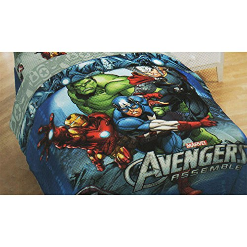 Superhero Bedding Twin 6262 front