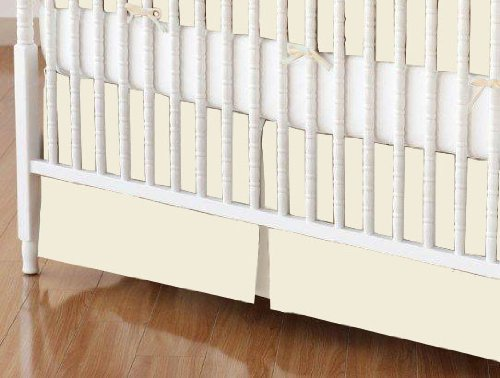 Ivory Crib Skirt