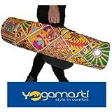 Toran Handmade Yoga Mat Bag-beautiful with functional pockets, inside zipper pocket-water resistant lining