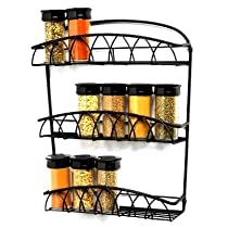 Twist Wall Mounted Spice Rack