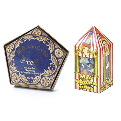 Wizarding Harry Potter Honeyduke's Chocolate Frog & Bertie Botts Candy Set