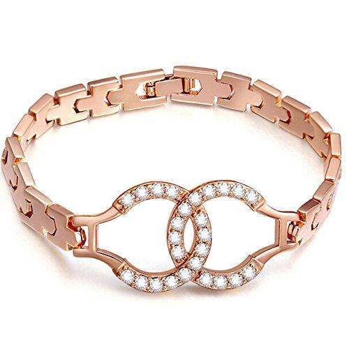 Iperbole moda braccialetto zircone Ms , 3