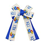 University of Kansas KU Jayhawk Cheer Hair-Bow at Amazon.com