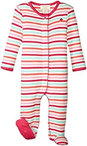 Kate Spade York Kids Baby Girl's Stripe Footie (Infant)