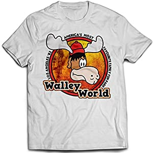 9170w Walley World Of Adventures Mens T-Shirt National Lampoon's Vacation Christmas European Class