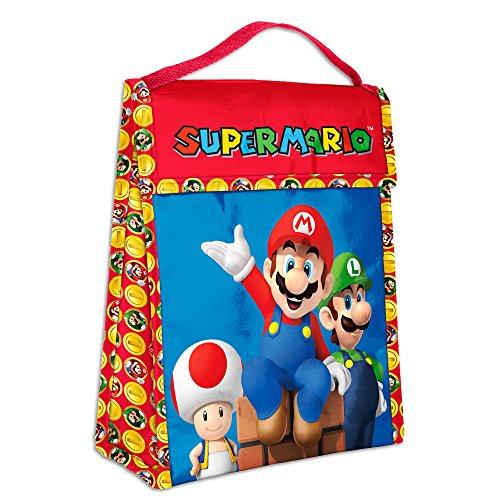 Zak Designs Super Mario Brothers Insulated Lunch Bag