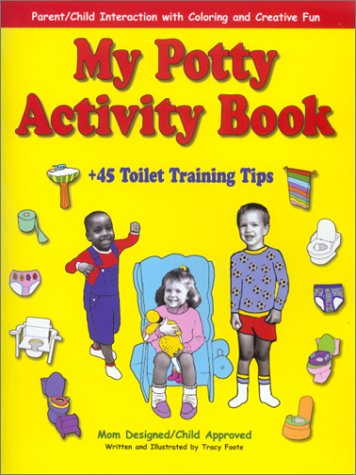 My Potty Activity Book + 45 Toilet Training Tips