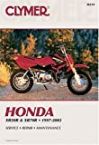 img - for Clymer Honda Xr50R & Xr70R, 1997-2003 (Clymer Motorcycle Repair) book / textbook / text book