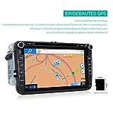 KAKIT-2-din-Autoradio-Windows-CE-60-Moniceiver-800MHz-mit-80-Zoll-BerhrungsbildschirmTouchscreen-bis-zu-32GB-SD-Karte-USB-Speicherstick-GPS-Navi-FM-AM-RSD-Radio-Bluetooth-und-Rckfahrkamera-fr-VW-Golf-