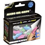 Lee Tippi Micro Gel Fingertip Grips - Assorted Sizes - 10 Pack (61410)