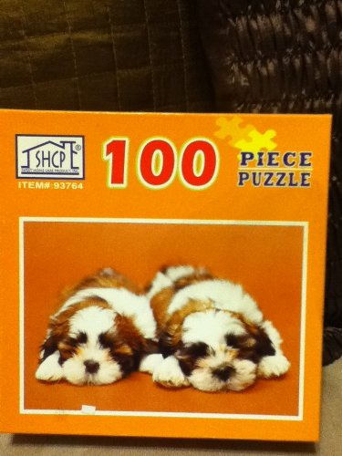 Sweet Home Care 100 Piece Puzzle~Dogs