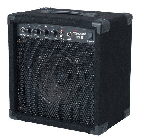Fender Starcaster 238-7000-010 15-Watt 1X8 Acoustic Guitar Amplifier