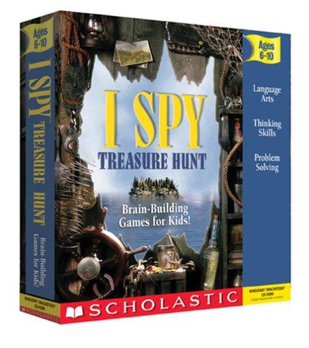 I Spy Treasure Hunt Jewel Case  Old VersionB000098XJJ : image