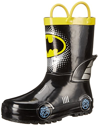 Disney 1BMS501 Batman Rain Boot (Toddler/Little Kid) at Gotham City Store