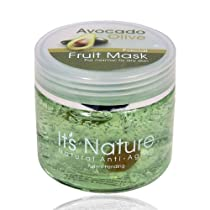 Natural Avocado Olive with Dead Sea Minerals Facial Mask