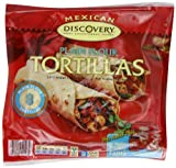 Discovery Soft Plain Flour Tortillas 320 g (Pack of 12)