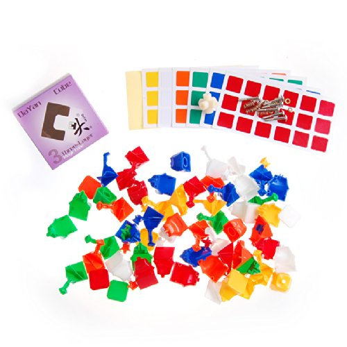DaYan Zhanchi 3x3 Speed Cube Stickerless DIY Kit (6 Color)