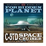 Round 2 Forbidden Planet: C57D Flying Saucer 1:144 Model Kit